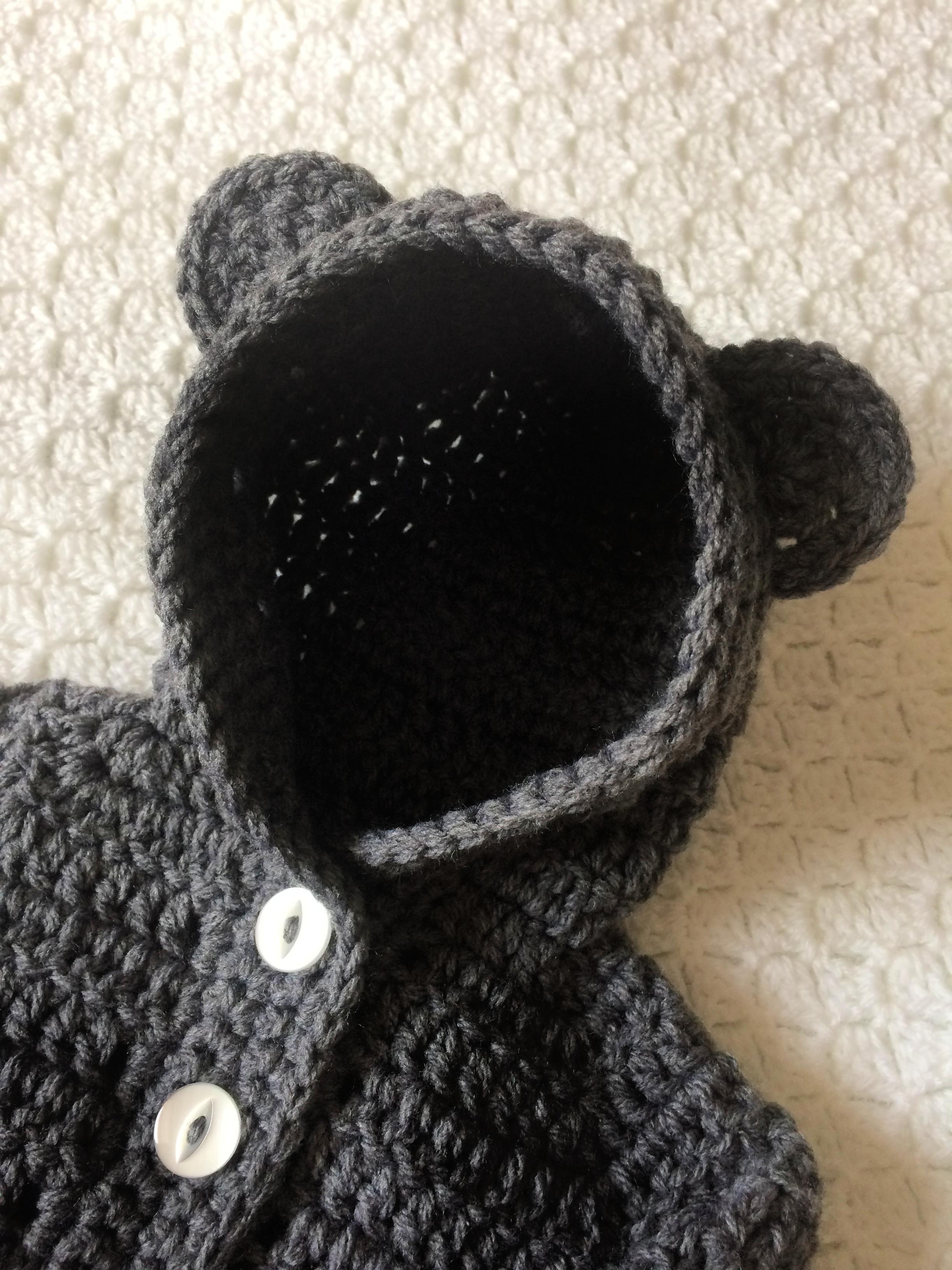 Baby Hoodie Crochet Pattern Adele Uyan Crochet